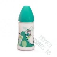 BIBERON 0 BPA PP BOCA ANCHA T LATEX 3 POSICIONES SUAVINEX 280 CC