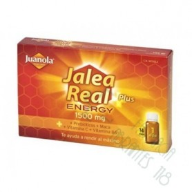 JUANOLA JALEA REAL ENERGY (1500 mg., 14 viales)