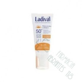 LADIVAL PIEL SENSIBLE O ALERGICA FPS 50+GEL CREM FOTOPROTECTOR FACIAL CON COLOR
