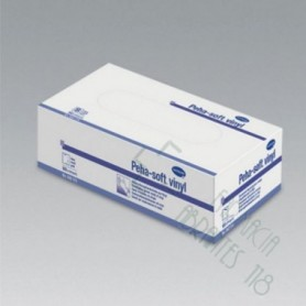 GUANTES VINILO PEHA-SOFT VINYL T- MED 100 U