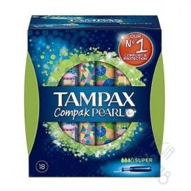 TAMPONES TAMPAX COMPAK PEARL SUPER 18U