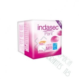 INDASEC PANT PLUS ABSORB INC ORINA DIA ANAT T- L 12 ABSORB