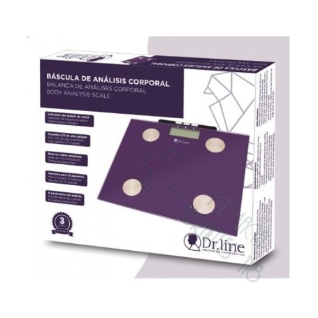 BASCULA ANALISIS CORPORAL DR LINE 1 U