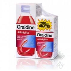 ORALDINE ANTISEPTICO PACK 400 ML +200 ML