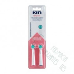 CEPILLO DENTAL ELECTRICO RECAMBIO KIN SENSITIVE 2 U
