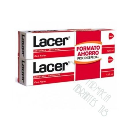 DUPLO LACER FLUOR PASTA 2X125 ML
