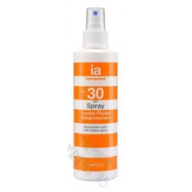 INTERAPOTHEK FOTOPROTEC SPF 30 LECHE FLUIDA SPRAY 200 ML