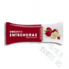 OBEGRASS ENTREHORAS BARRITA CHOCOLATE NEGRO Y NARANJA 30 G