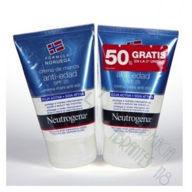 NEUTROGENA CREMA DE MANOS ANTIEDAD 50 ML 2 U
