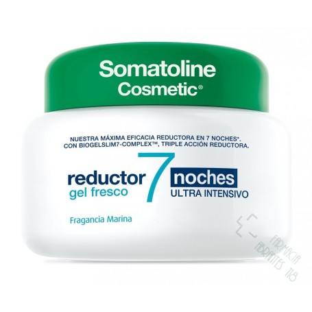 SOMATOLINE COSMETIC REDUCTOR 7 NOCHES GEL FRESCO ULTRA INTENSIVO 400 ML