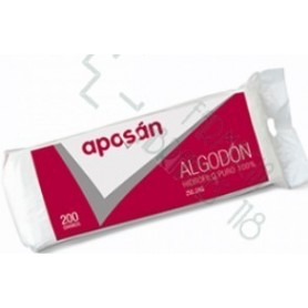 ALGODON ZIG-ZAG PURO APOSAN 200 G