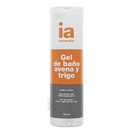 INTERAPOTHEK GEL DE BAÑO AVENA GERMEN DE TRIGO 750 ML