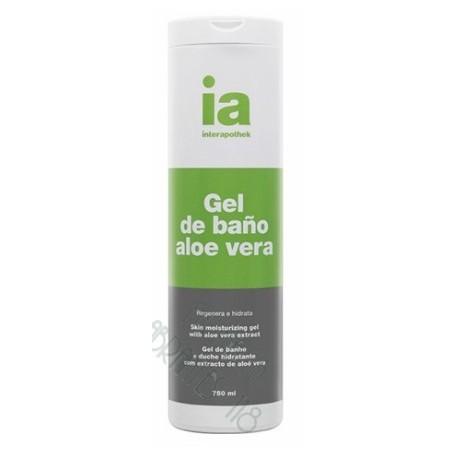 INTERAPOTHEK GEL DE BAÑO ALOE VERA 750 ML