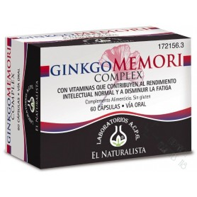 GINKGOMEMORI COMPLEX EL NATURALISTA 60 CAPS