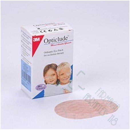 OPTICLUDE PARCHES OCULARES 1537 T-PEQ 6,0 CM X 5 CM 20 U