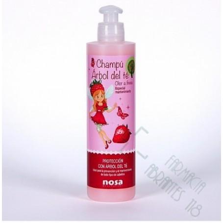NOSA SPRAY DESENREDANTE ARBOL DEL TE ROSA 250 ML