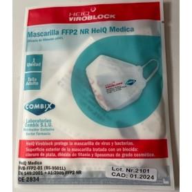 MASCARILLA FFP2 NR VIROBLOCK CON VIRUCIDA