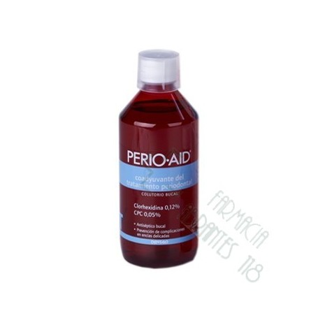 PERIO AID TRATAMIENTO COLUTORIO SIN ALCOHOL 500 ML