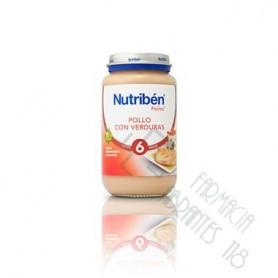 NUTRIBEN POLLO CON VERDURAS POTITO GRANDOTE 250 G