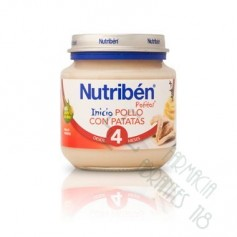 NUTRIBEN POLLO CON PATATAS POTITO INICIO 130 G