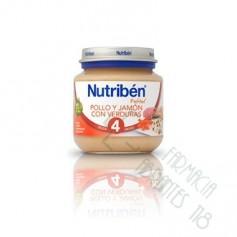 NUTRIBEN POLLO JAMON VERDURA POTITO INICIO 130 G