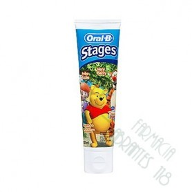 ORAL-B STAGES 2 PASTA DENTAL INFANTIL WINNIE THE POOH 50 ML