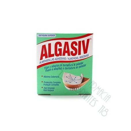 ALGASIV ALMOHADILLAS ADHESIVAS PROTESIS 18 U SUPERIOR