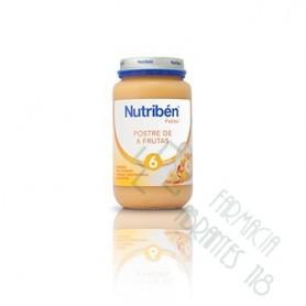 NUTRIBEN POSTRE DE 6 FRUTAS POTITO GRANDOTE 250 G
