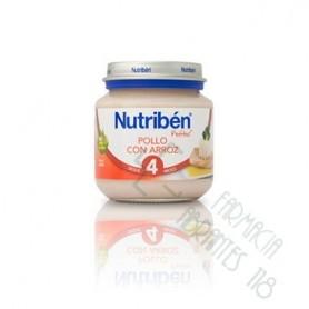 NUTRIBEN POLLO CON ARROZ POTITO INICIO 130 G