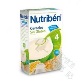 NUTRIBEN CEREALES SIN GLUTEN PAPILLA LECHE ADAPT 300 G